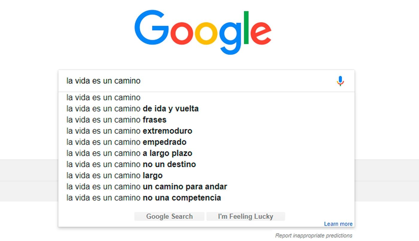 Poemas de Google. Actividad ELE