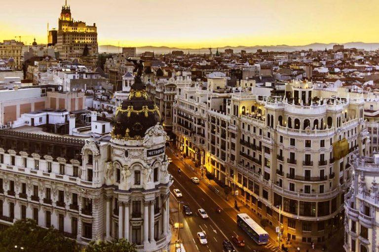 canciones. Madrid letra en canciones