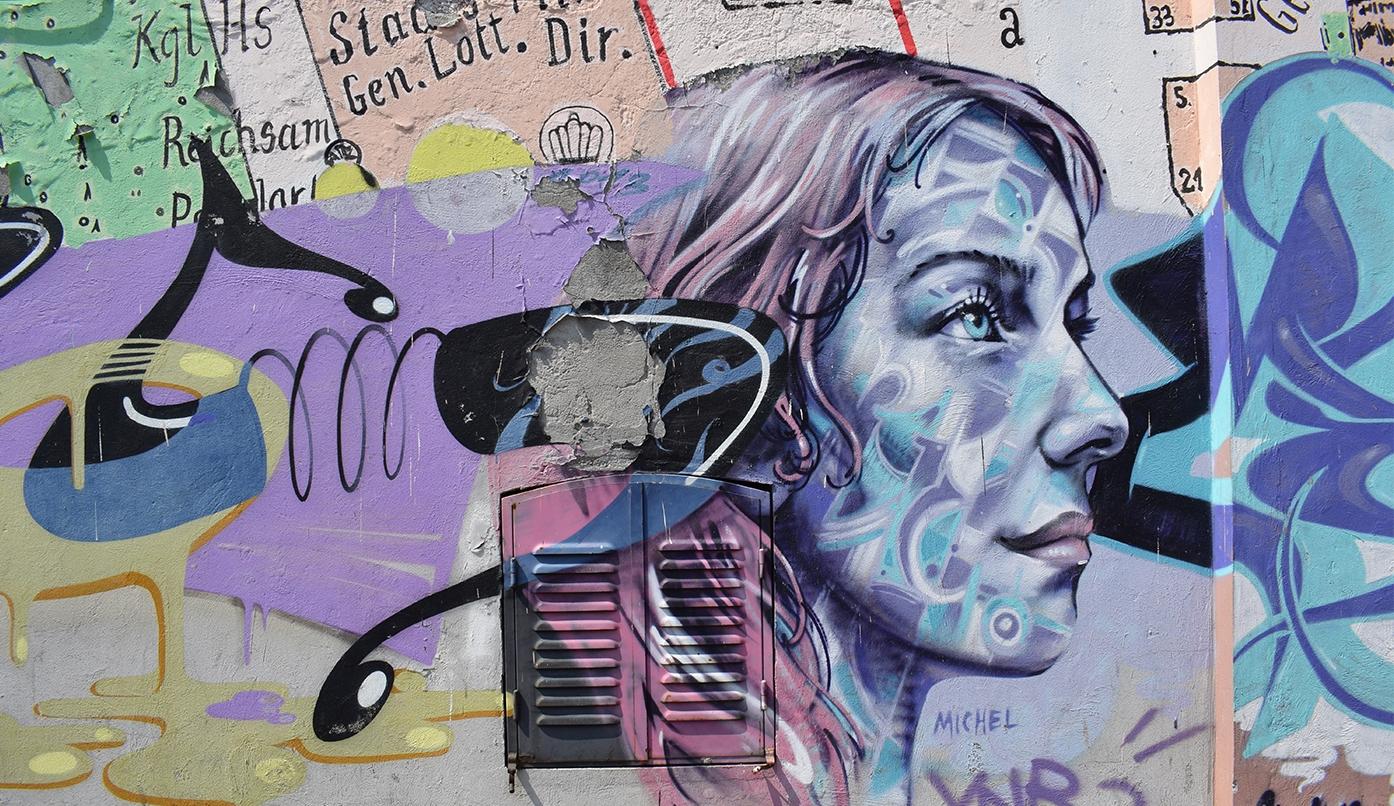 Aprovechar el arte urbano
