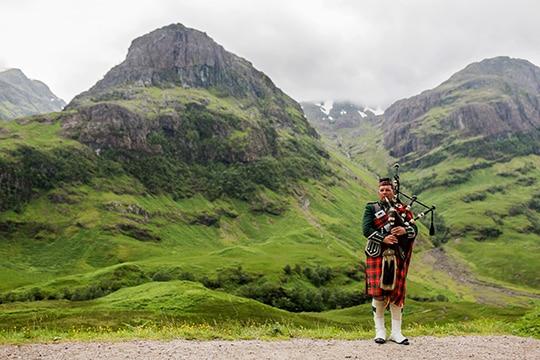 Scotland auxiliar de conversación españoles